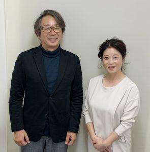 竹内代表と田中絵里カウンセラー